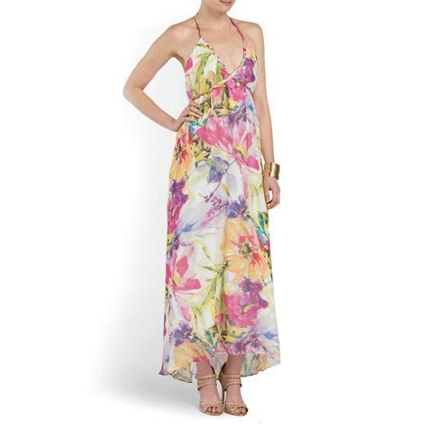 Yumi KIM Silk Floral Print Vastflora Sasha Maxi Halter