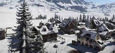 pubg vikendi snow map heres    vikendi snow map