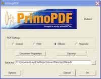 PrimoPDF Screenshot