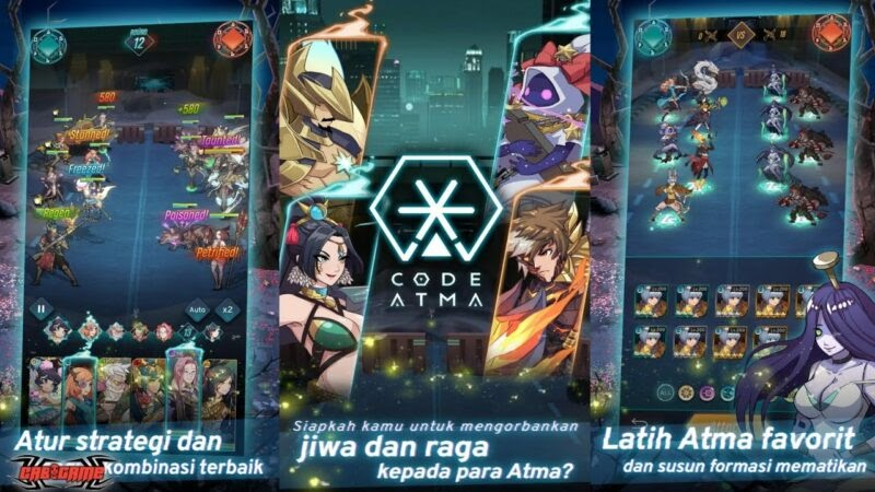 Agate Rilis Code Atma, Game Fantasi Mistis dengan Nuansa Khas Indonesia! oleh - gamesaekano.xyz