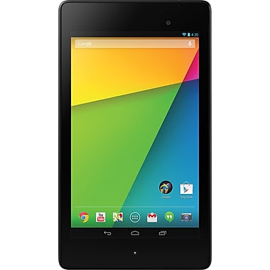 Google Nexus 7 Tablet 2nd Gen (NEXUS7ASUS-2B16), Android 4.3, 7in., 16GB, FHD, Black, By ASUS