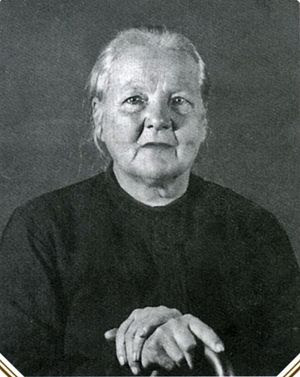 Nun-Martyr Augusta (Zaschuk) Photograph before her death