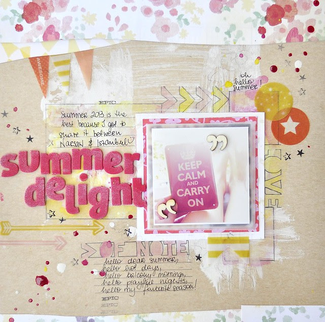 Summer Delight CTK July