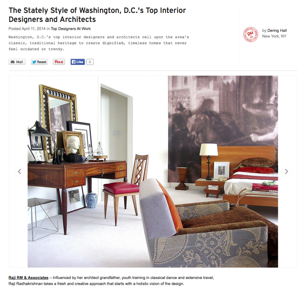 Online Press: Thank you Dering Hall! — Raji RM - Interior ...