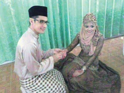 (GAMBAR)Pernikahan Ashraf Muslim Dan Wan Sakinah