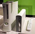 Xbox 360 and add-on HD DVD drive
