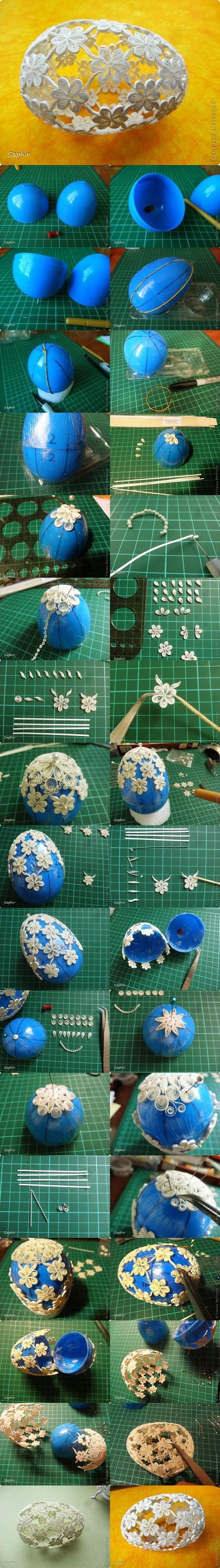 DIY Quilling Easter Egg 2