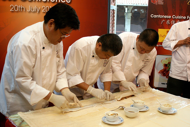 150 chefs will try to set the record for Longest Chee Cheong Fun in Singapore