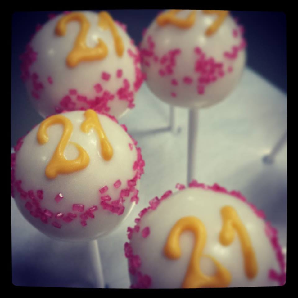 Sensational Birthday Cake 21St Birthday Cake Pop Ideas Funny Birthday Cards Online Chimdamsfinfo