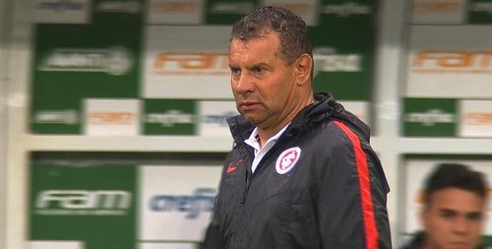 Celso Roth comanda Inter contra o Palmeiras  (Foto: Reprodução / SporTV)