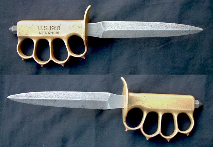 Fustians So Sublimely Bad Knuckle Duster Knives And Swords