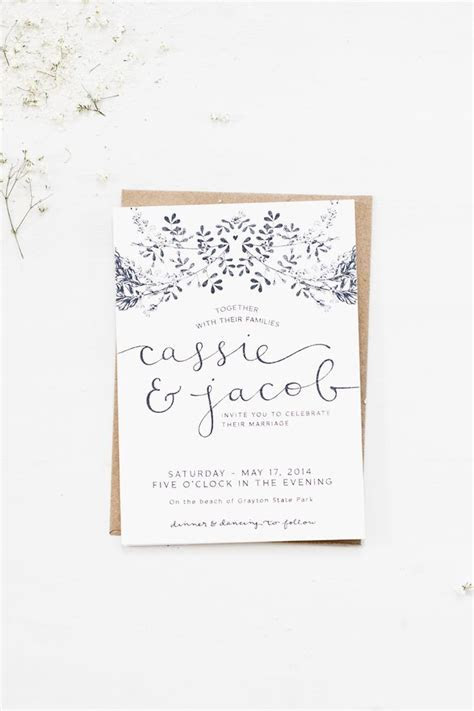1000  ideas about Ivory Wedding Invitations on Pinterest