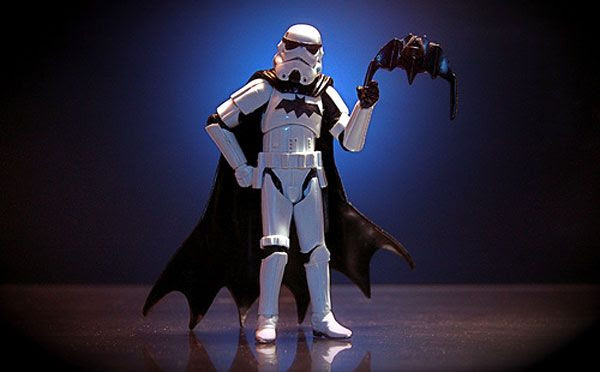 No, this isn't what the Stormtroopers wore in my dream last night.