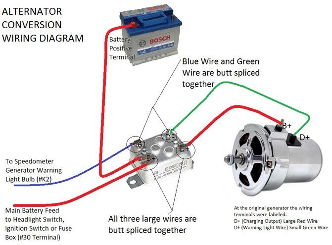 12 Volt Generator Wiring Diagram