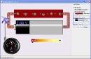 Screenshot of the simulation Battery-Resistor Circuit