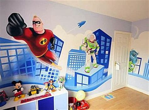 room paint ideas modern artistic trace cute toy story