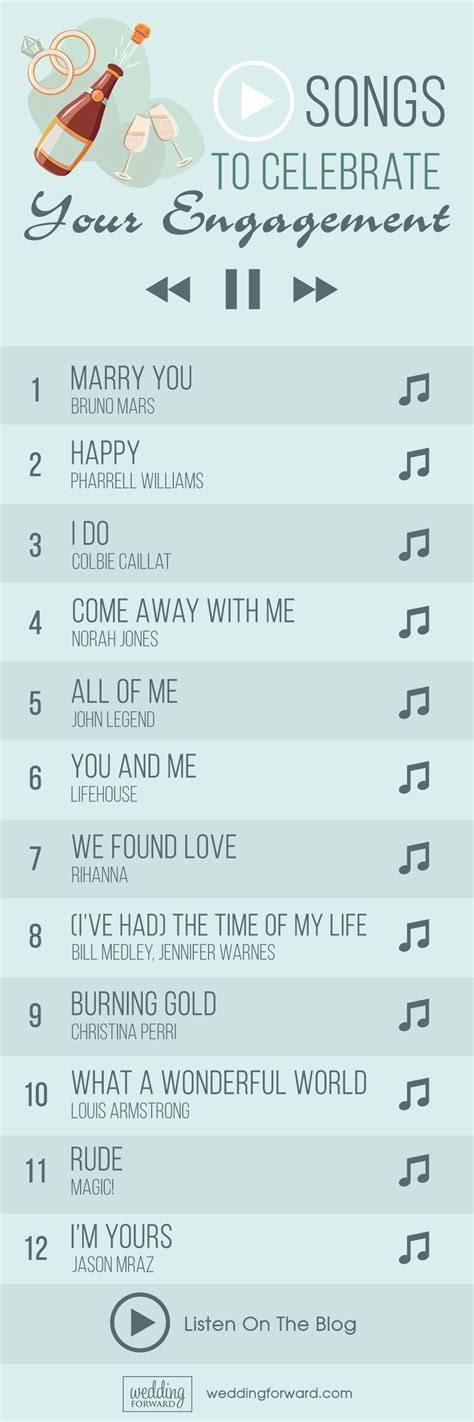 65 Top Engagement Songs For Your Party   Party   Wedding