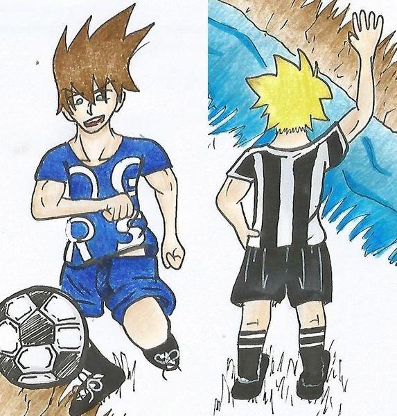 fußballspieler bilder comic