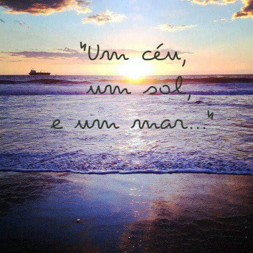 Tumblr Frases Fotos Céu Sol Mar Paisagens E Algué Para Se Amar