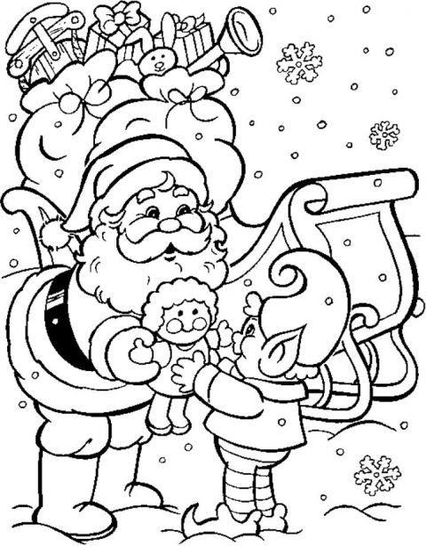 Disegni Natale Da Colorare E Ritagliare Coloratutto Website