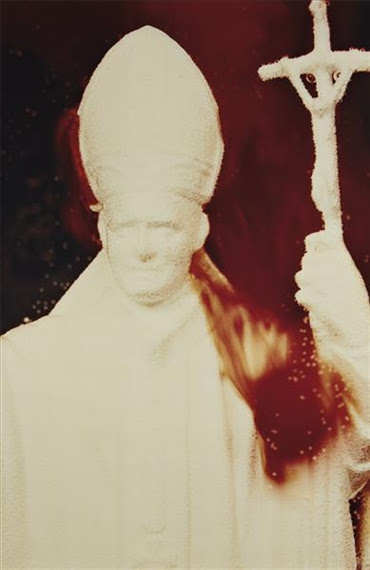 Andrés Serrano, White Pope from Immersions