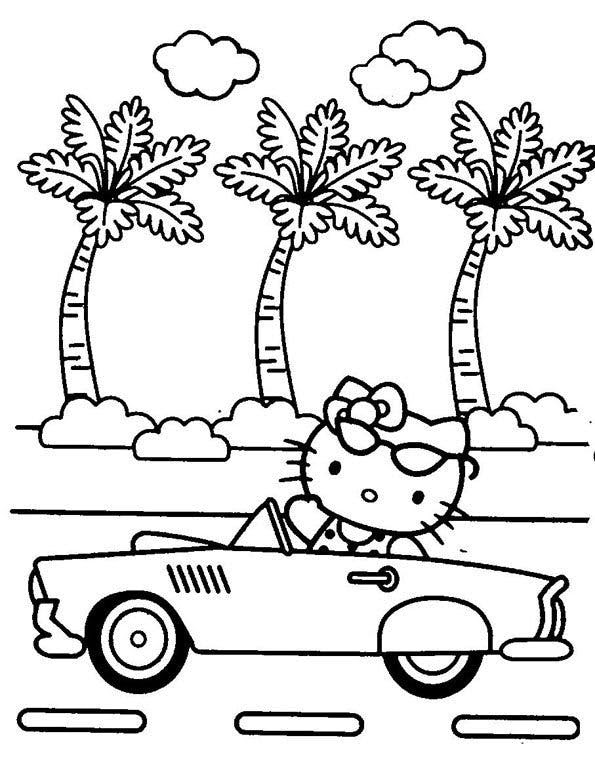 Coloriage Hello Kitty 1 Momesnet