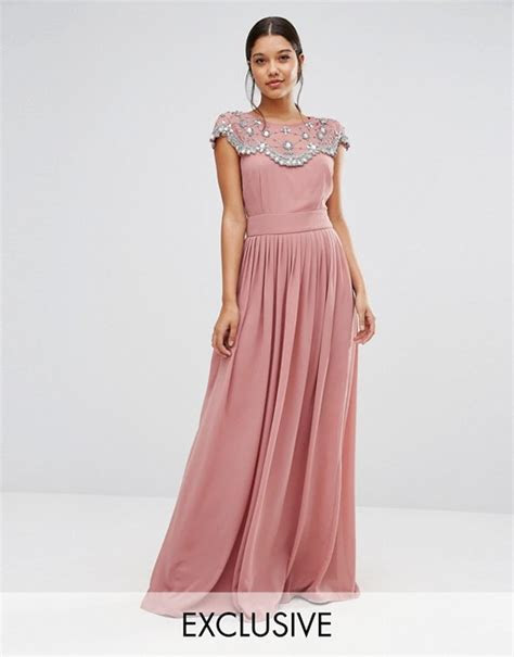 TFNC   TFNC WEDDING Embellished Maxi Dress
