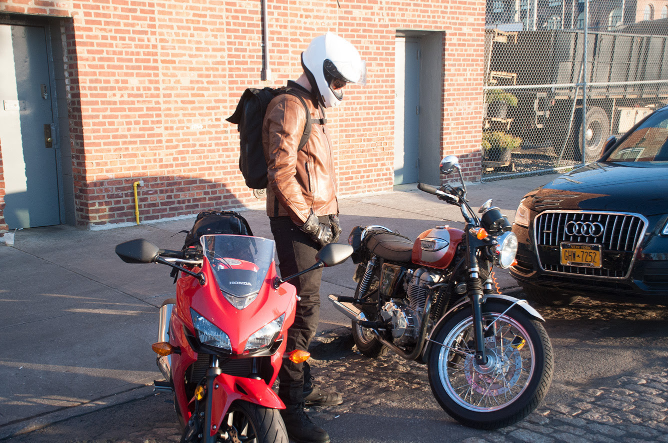 big or small motorcycle