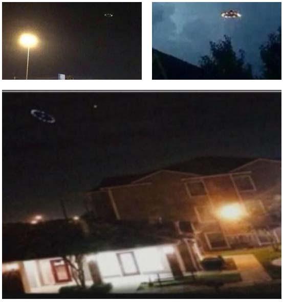 espectacular ovni houston Numerosos testigos avistan un espectacular OVNI en Houston