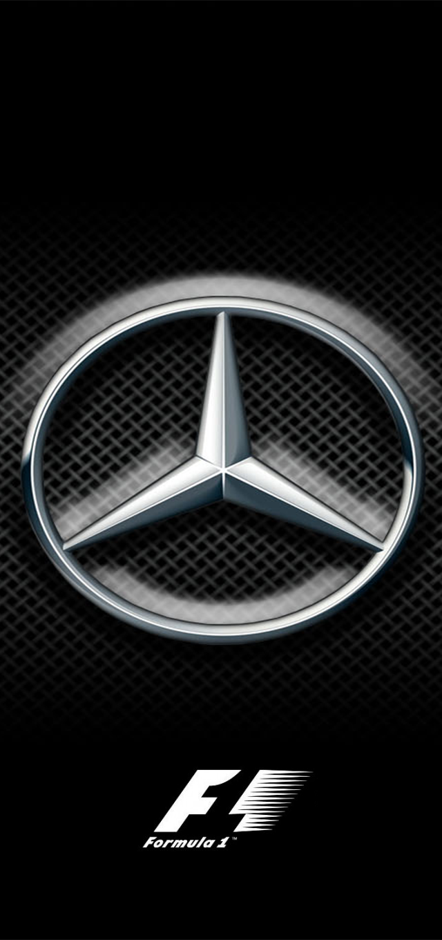 Mercedes F1 background for iPhone 5 : formula1