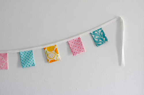 Spring Bunting Tutorial - In Color Order
