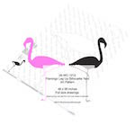 Flamingo Leg Up Yard Art Woodworking Pattern - fee plans from WoodworkersWorkshop® Online Store - flamingoes,yard art,painting wood crafts,scrollsawing patterns,drawings,plywood,plywoodworking plans,woodworkers projects,workshop blueprints