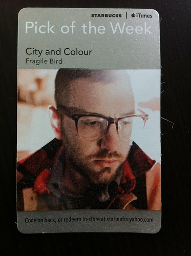 Starbucks iTunes Pick of the Week - City and Colour - Fragile Bird