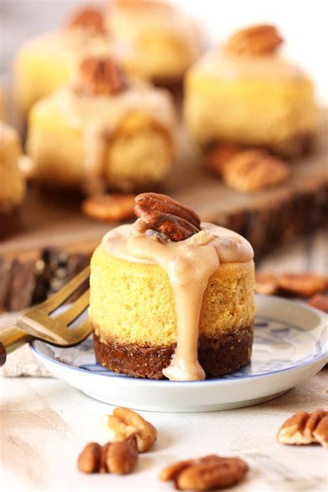 Mini Pumpkin Praline Cheesecake ? Best Cheap Dessert Food