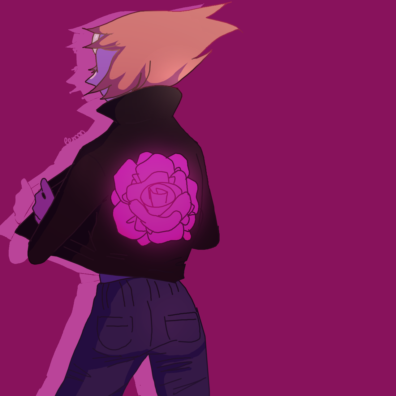 Tell me again that Pearl doesn't have a rose on her jacket I DARE U