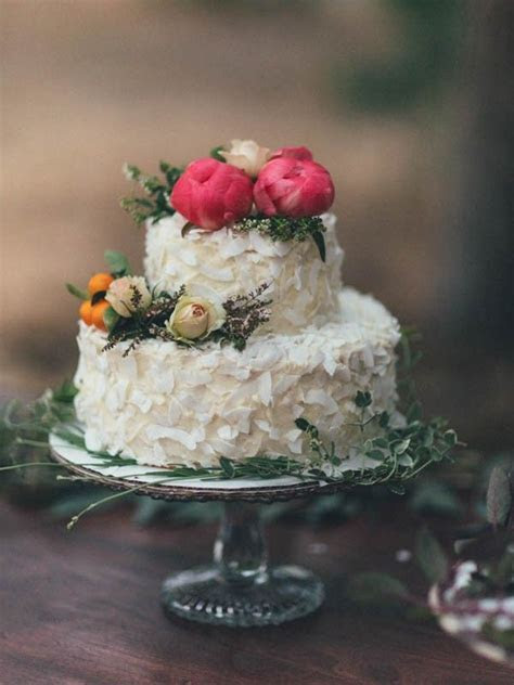 27 best images about Coconut Wedding Cakes on Pinterest