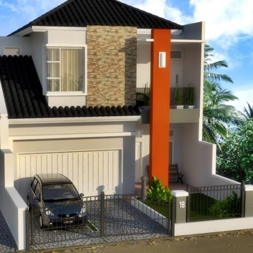3 Desain Rumah Minimalis 2 Lantai Mewah Bergaya Urban ...