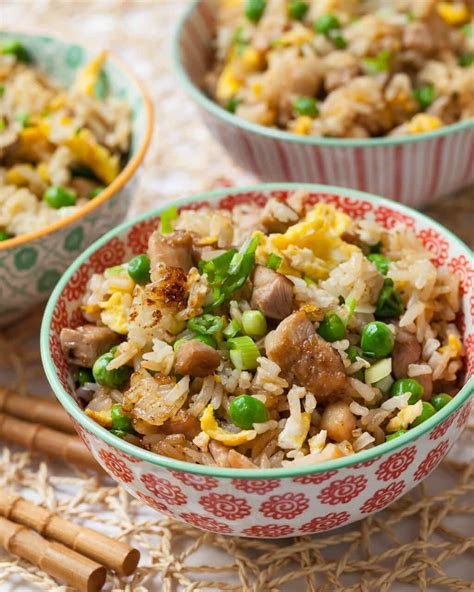 chicken fried rice steamy kitchen recipes