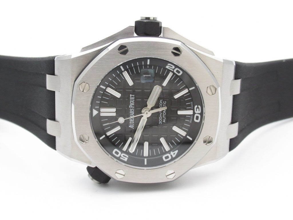 JF Diver 15703 Black Dial