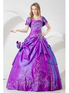 Sunflower Best Quinceanera Gown Dresses with Short Jacket ...