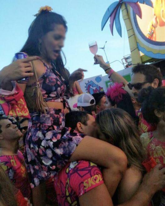 Foto do Carnaval viraliza nas redes (Foto: Reprodução)