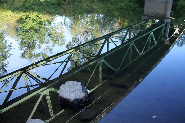 Autumn, 99W Bridge, Tualatin River