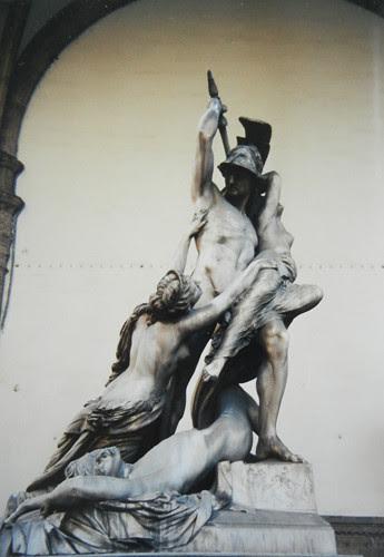 The Rape of Polyxena, Pio Fedi, Loggia dei Lanzi (Loggia della Signoria), Firenze _ 8082 - 500