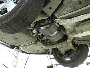 Artemis actuators under a BMW