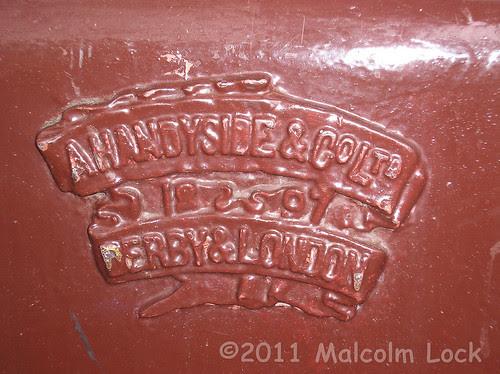 Handyside badge at Windsor & Eton Central railway station