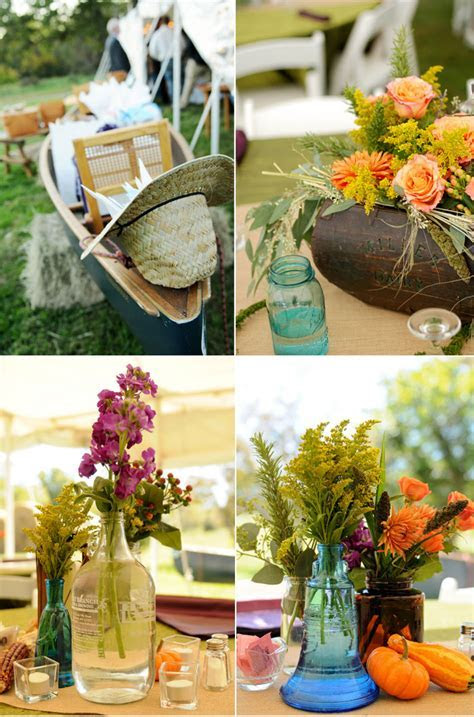 Rustic Fall Wedding with Creative DIY Ideas