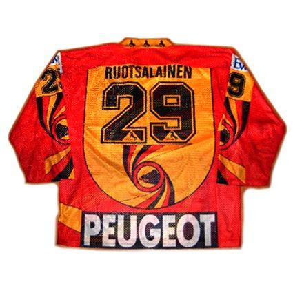 SC Bern 94-95 jersey, SC Bern 94-95 jersey