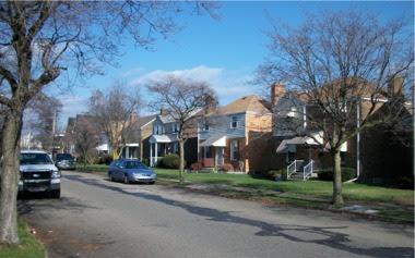 Ambridge residential street