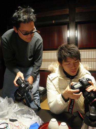 Checking cameras with Kong