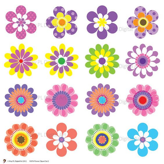 Spring Flowers Flower Clipart And Flowers Mothers Day On